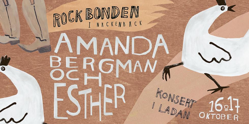 Amanda Bergman & Esther - Kvällskonsert