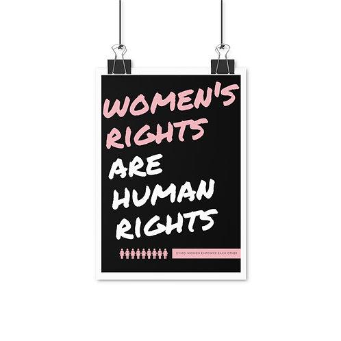 EVMO Posters - Women's Rights