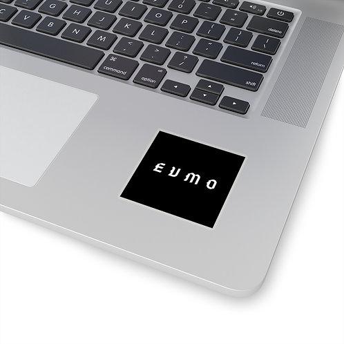 Kiss-Cut EVMO Goth Font Stickers