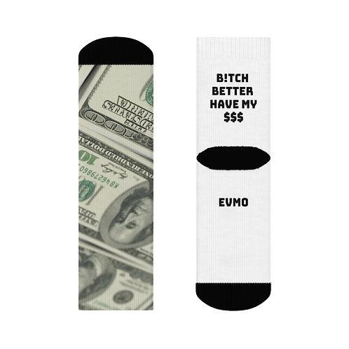 EVMO Money Socks