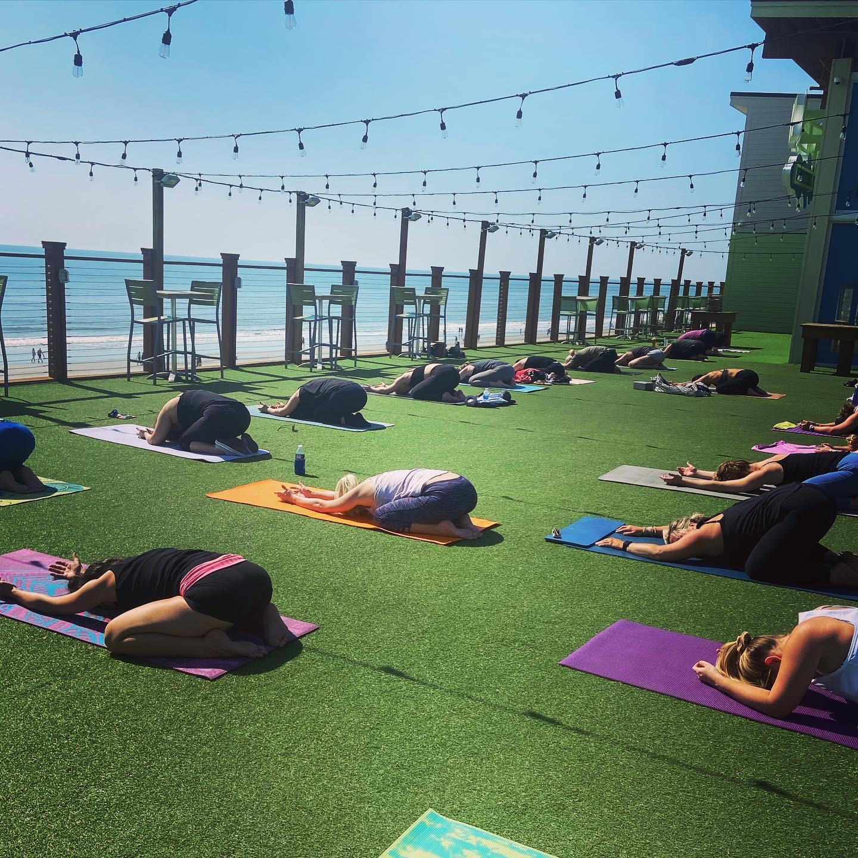 Rooftop Yoga   Saturdays   9:30am