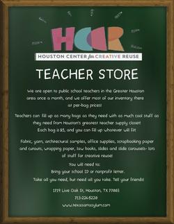 Nonprofit Teacher Store Flyer Final Colo