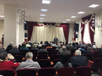 Новосибирское региональное отделение провело творческую встречу писателя, публициста Ю.Ю. Воробьевск