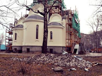 Храму во имя страстотерпца царя Николая II г. Новосибирск нужна помощь для завершения строительства.