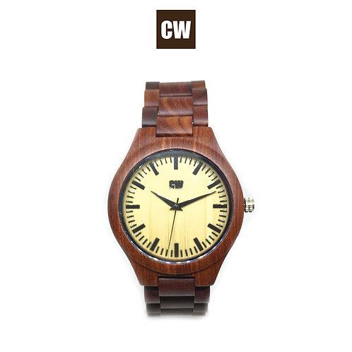 Orologio in legno scuro | CW