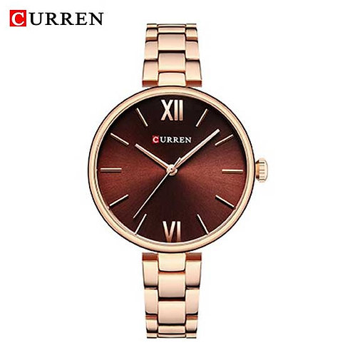 Curren Donna Diva Rose Gold / Bordeaux