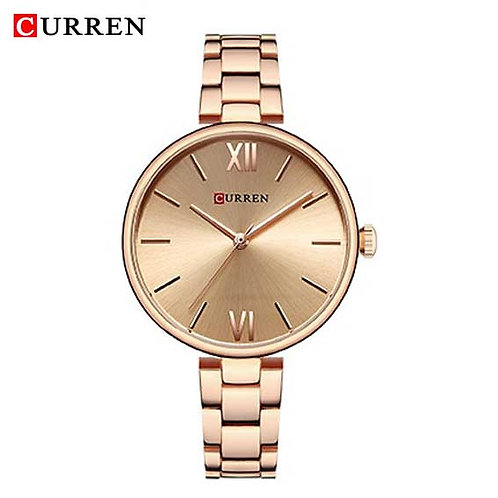 Curren Donna Diva Rose gold