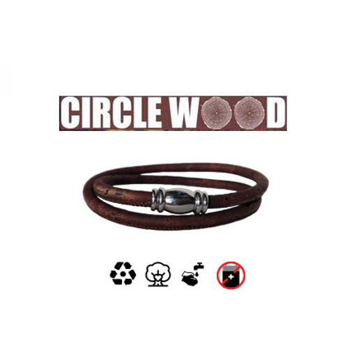 Bracciali Circle Wood