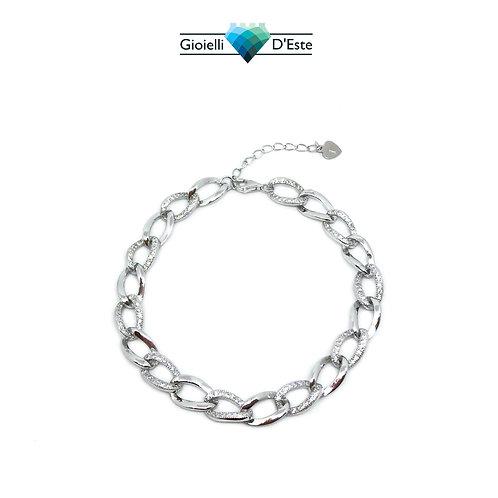 Bracciale catena argento