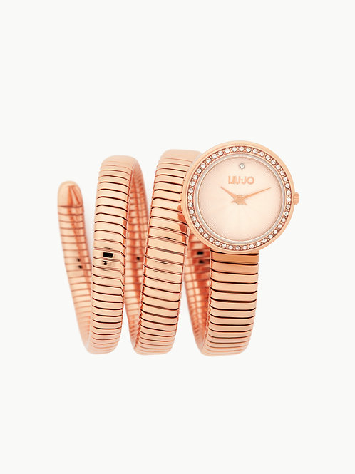 Orologio In Acciaio Fashion Twist