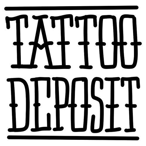 Tattoo Deposit + Online Booking Fee