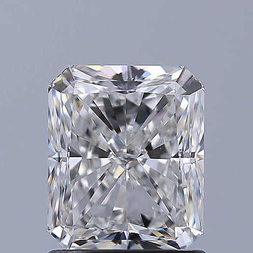 GIA 1.26ct G IF RADIANT CUT