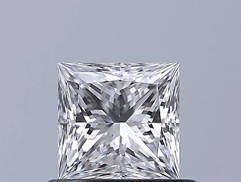 GIA 0.51ct E VVS2 PRINCESS CUT