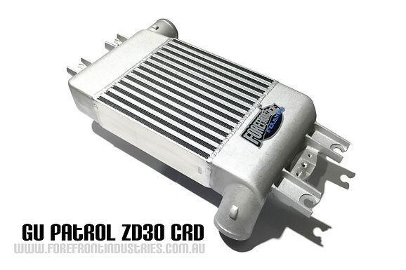 GU Patrol ZD30 CRD 07-13 Intercooler Upgrade