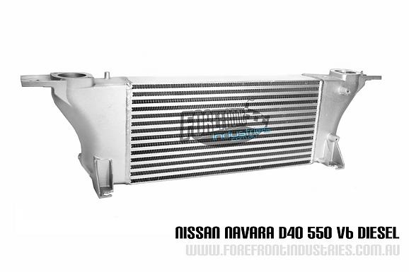 Navara D40 550 v9x v6 Aftermarket  INTERCOOLER