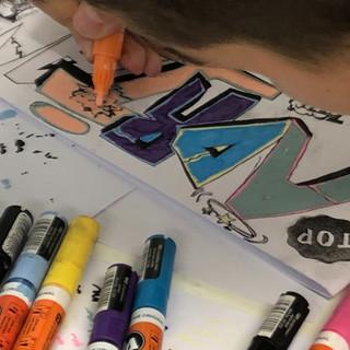 Graffitibuchstaben