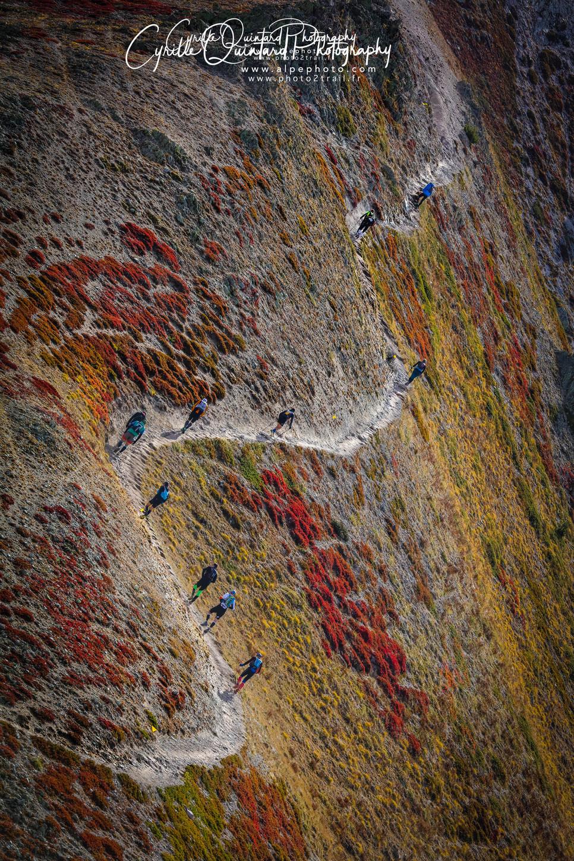 Serre chevalier Trail un Trail haut en couleur