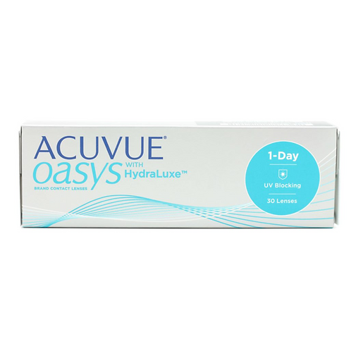 ACUVUE® OASYS® 1-Day with Hydraluxe™ (PLUS POWER)