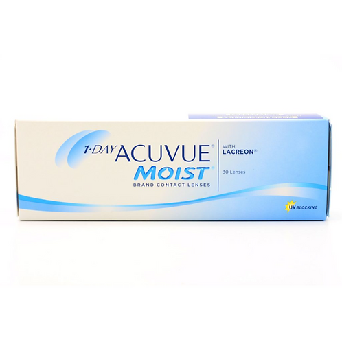 1-DAY ACUVUE® MOIST® Brand (PLUS POWER)