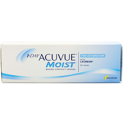 1-DAY ACUVUE® MOIST® Brand for ASTIGMATISM (PLUS POWER)