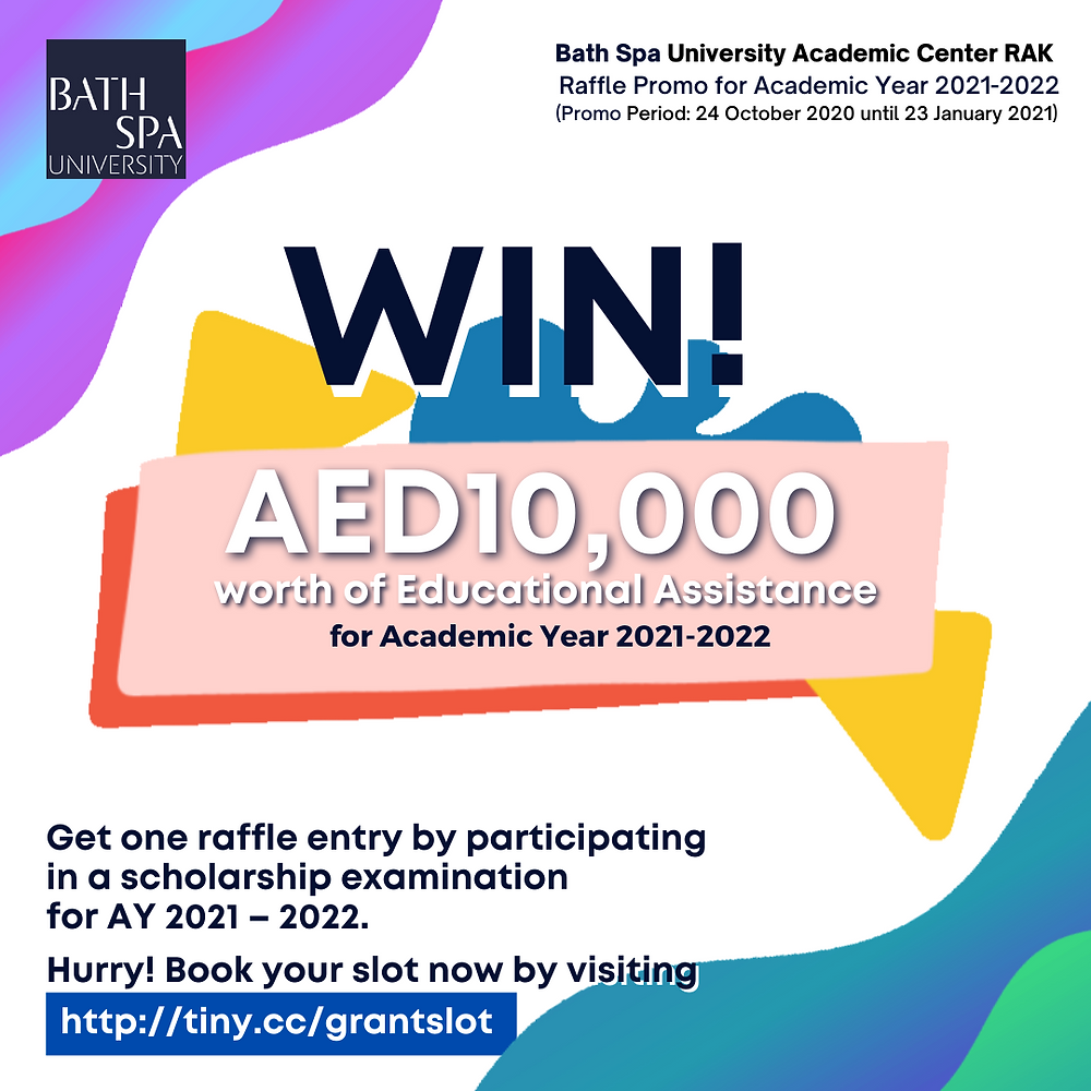 Win 10,000 dirhams worth of educational assistance