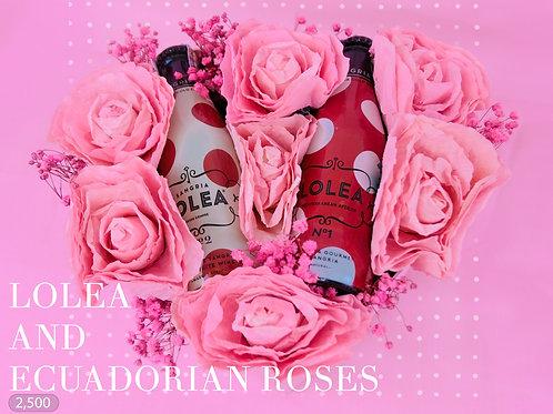 Lolea and Ecuadorian Roses