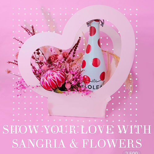 Sangria and Flowers