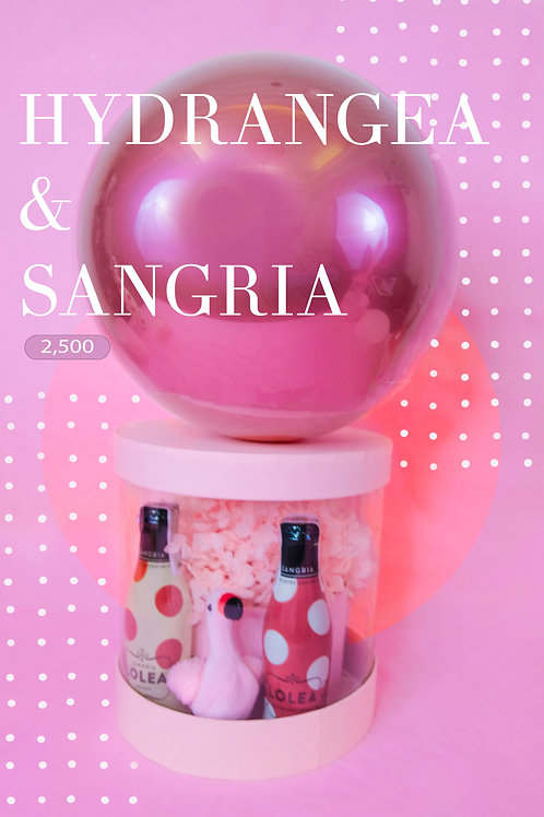 Sangria & Hydrangeas