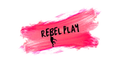 Rebel Play Logo designed by Linn Johansson