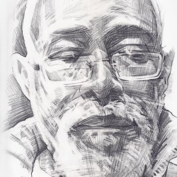 FOWOKAN  -  Sketch 2   Graphite pencil on cartridge paper  29 x 42 cm