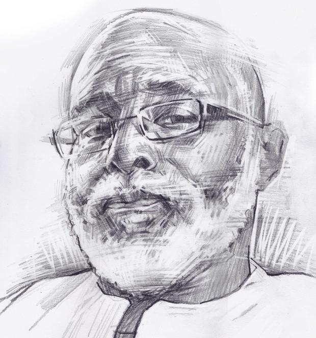 FOWOKAN  -  Sketch 4   Graphite pencil on cartridge paper  29 x 42 cm