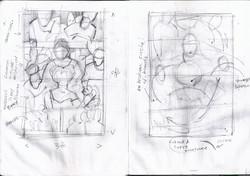 Olowe Rough Sketch