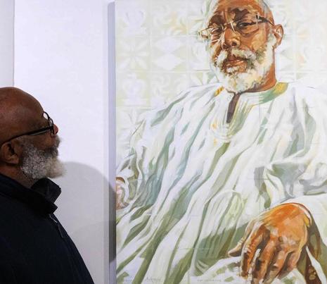 FOWOKAN and his portrait