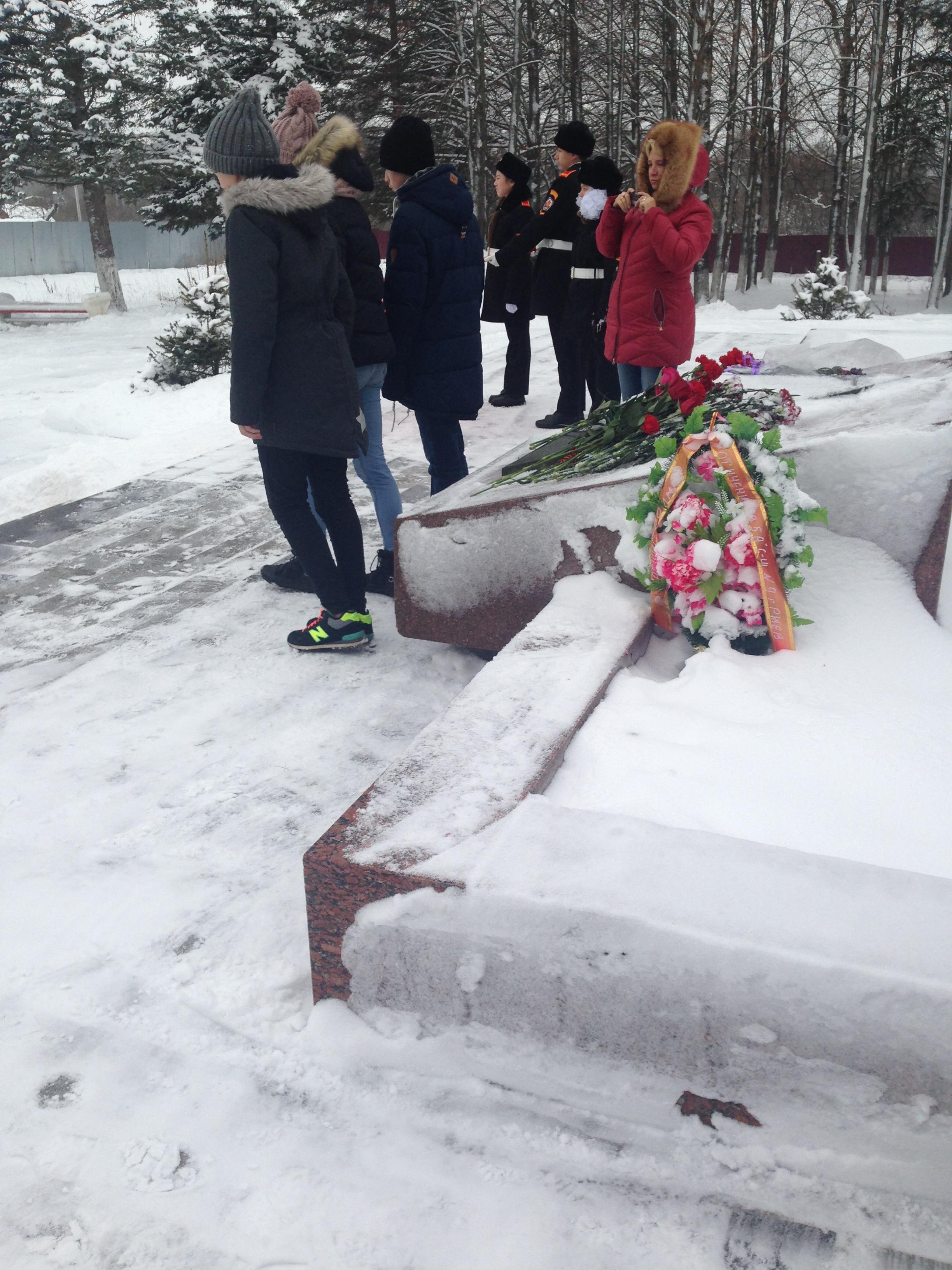 марш памяти 2017-2018 уч.г