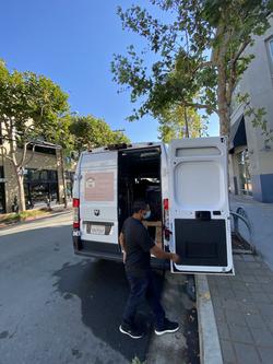 Moving using Van