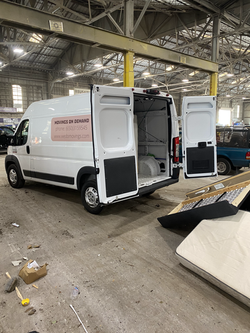 White Van for Movers