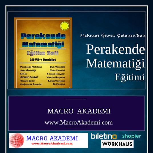 Perakende Matematii - Made with PosterMy