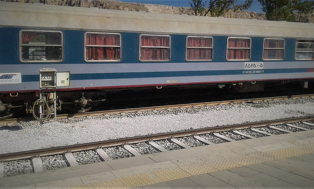 Iranian Train at Lake Van