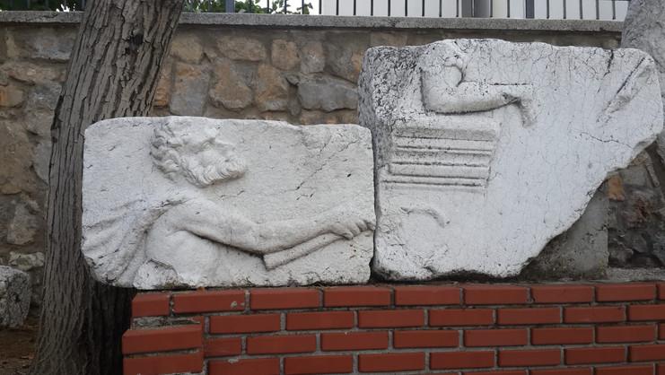 Museum exhibits from Pisidian Antioch - M+K Belton