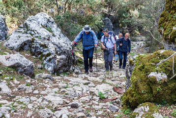 part of the Roman Road followed by the Lycian Train to Sidyma