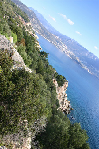 View form the Lycian way back to Kalkan
