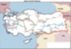 Turkish Railway Map for online train tickets