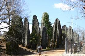 Delisarnic Village rock formations