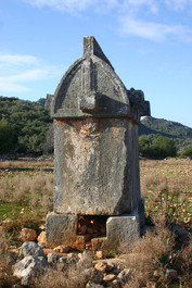 Lycian Sarcophagus at Istlada