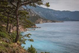 Contrasts of The Lycian Turquoise