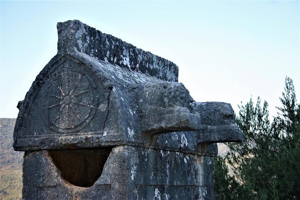 Apollonia Lycian Lion Sarcophagus