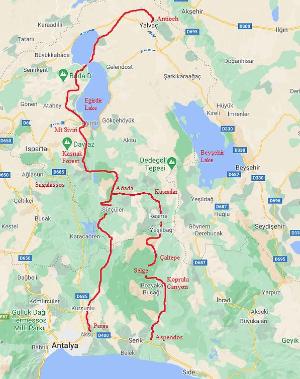 St Paul Trail Map