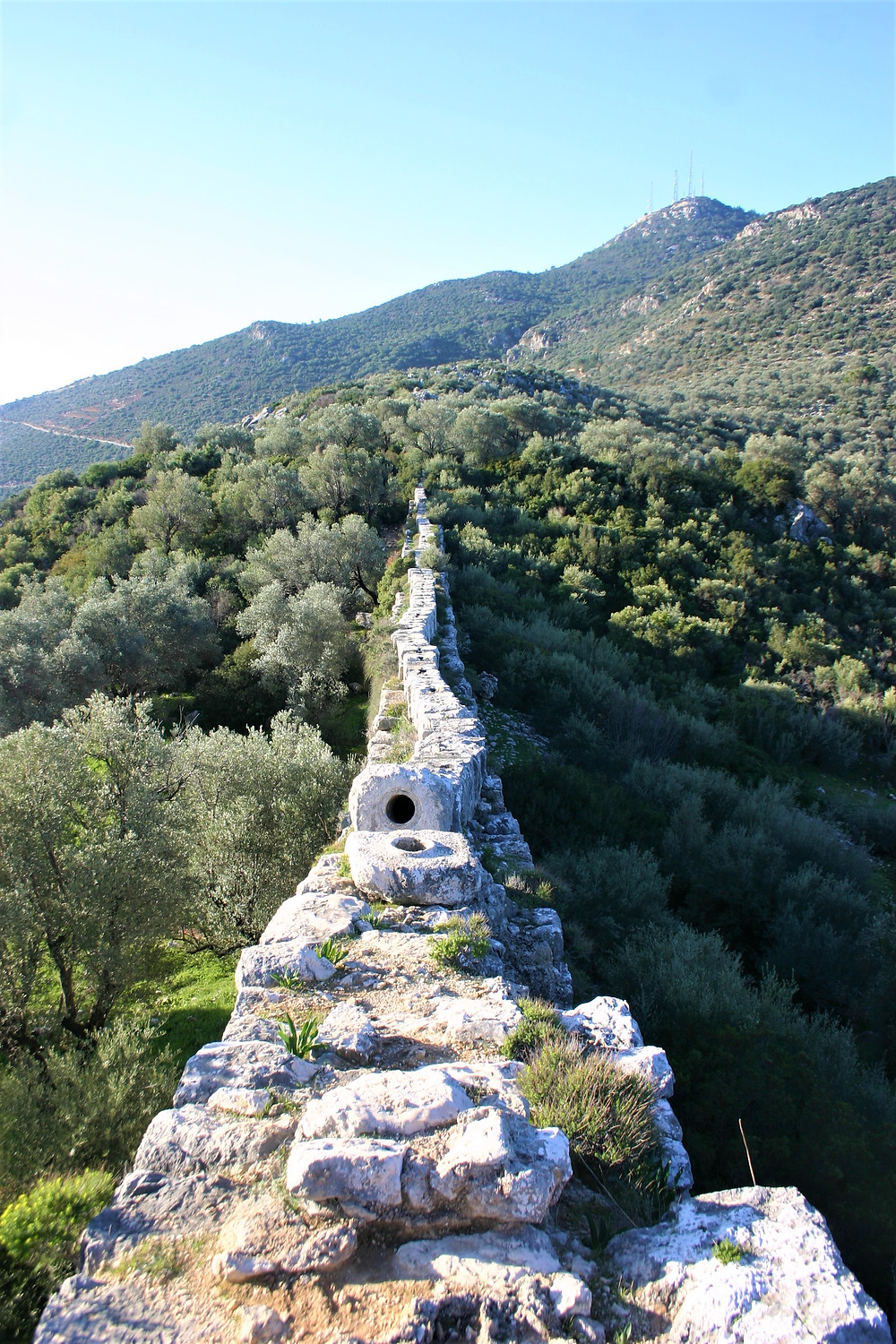 Pipe of the Delikkemer Lycian Aqueduct