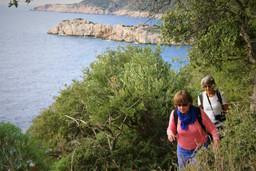 Rugged lycian coast