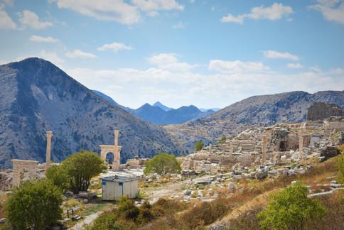 View of the Agora of Sagalassos